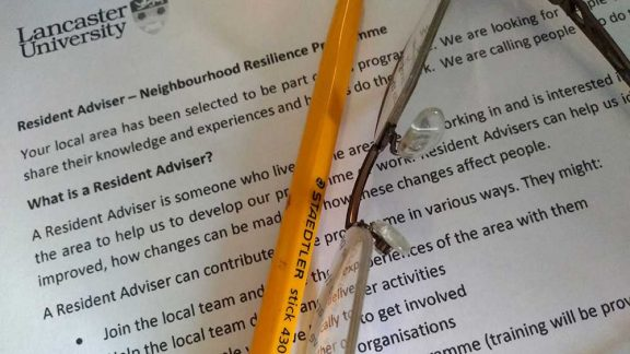 a letter containing information of what it means to be a Resident Advisor